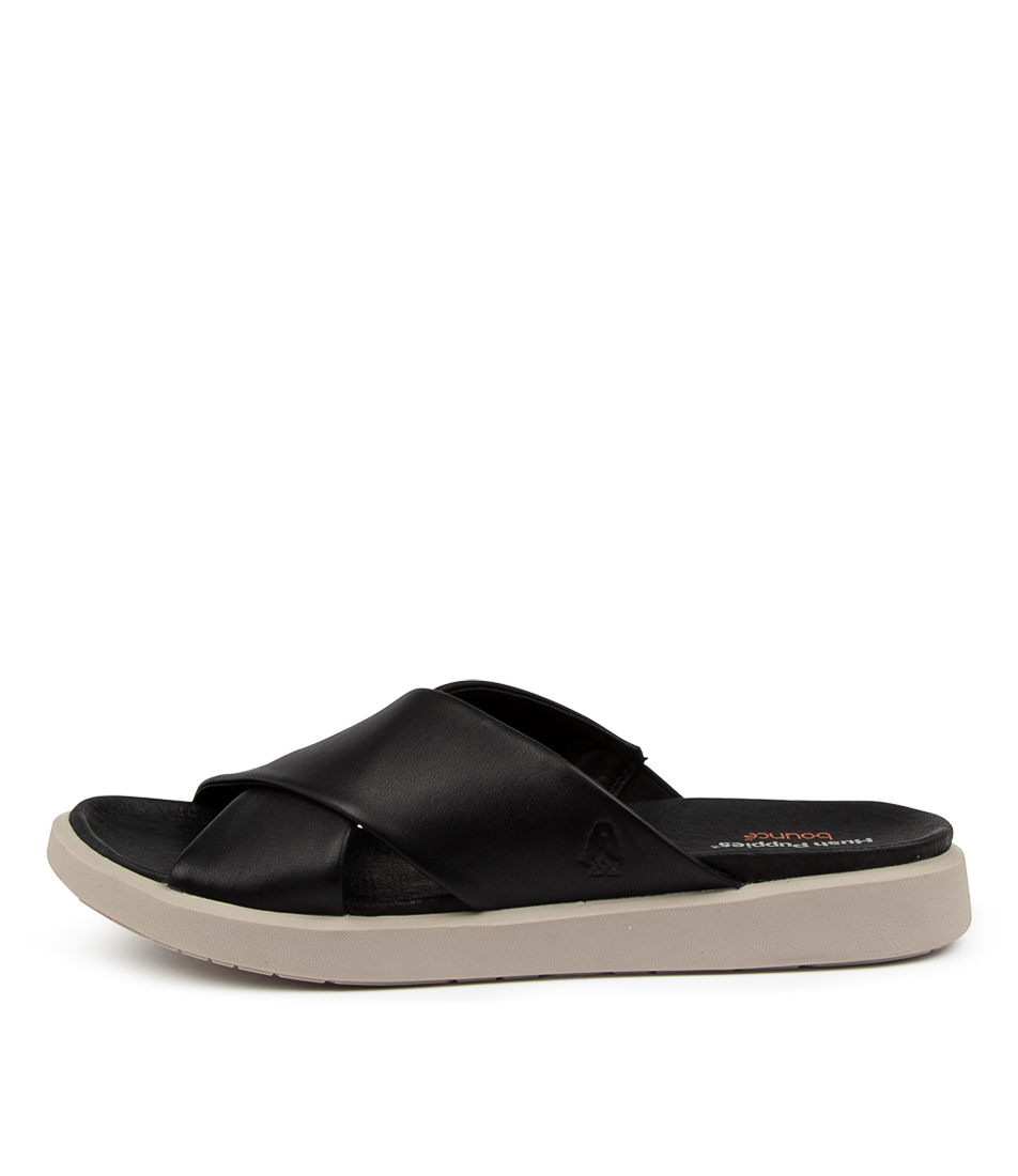 Buy Hush Puppies Moena Hp Black Flat Sandals online with free shipping
