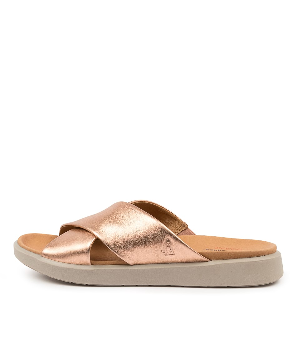 Buy Hush Puppies Moena Hp Rose Gold Flat Sandals online with free shipping
