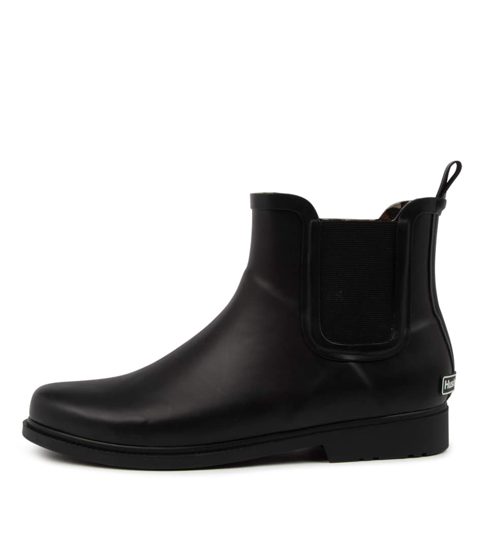 Buy Hush Puppies Muddy Hp Black Ankle Boots online with free shipping