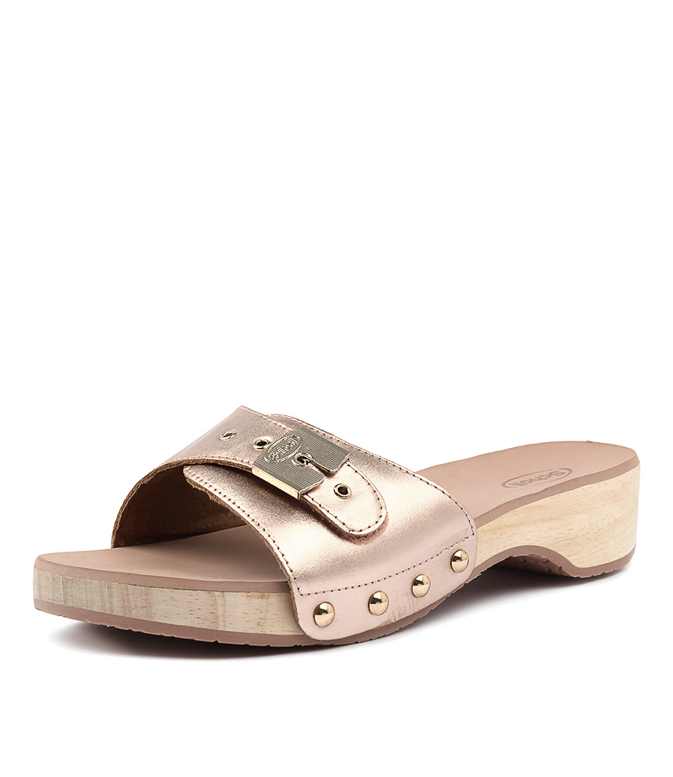 Scholl Paramount Rose Gold Sandals