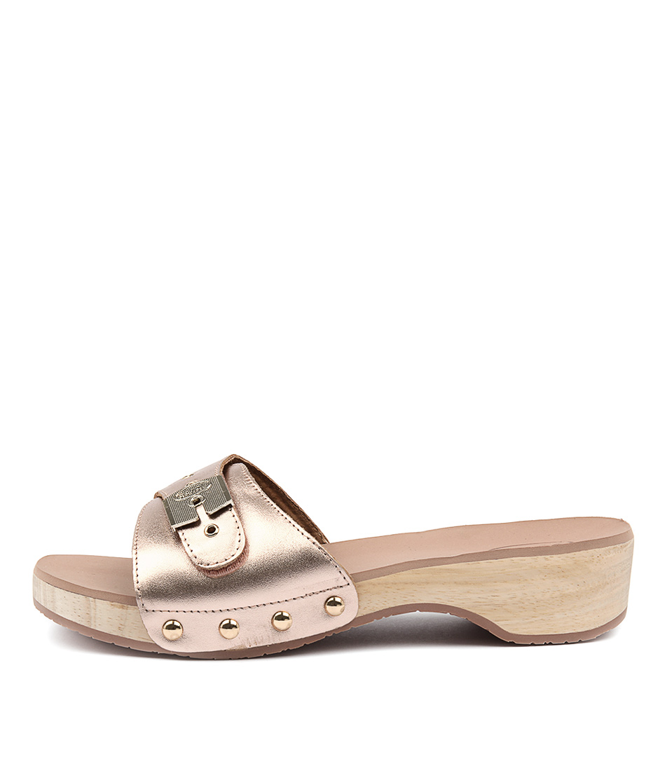 Scholl Paramount Rose Gold Heeled Sandals