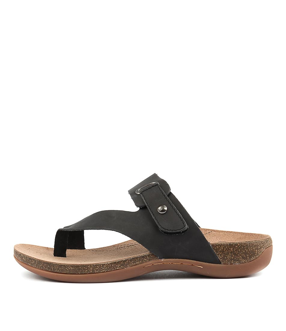 Scholl Antonia Black Sandals