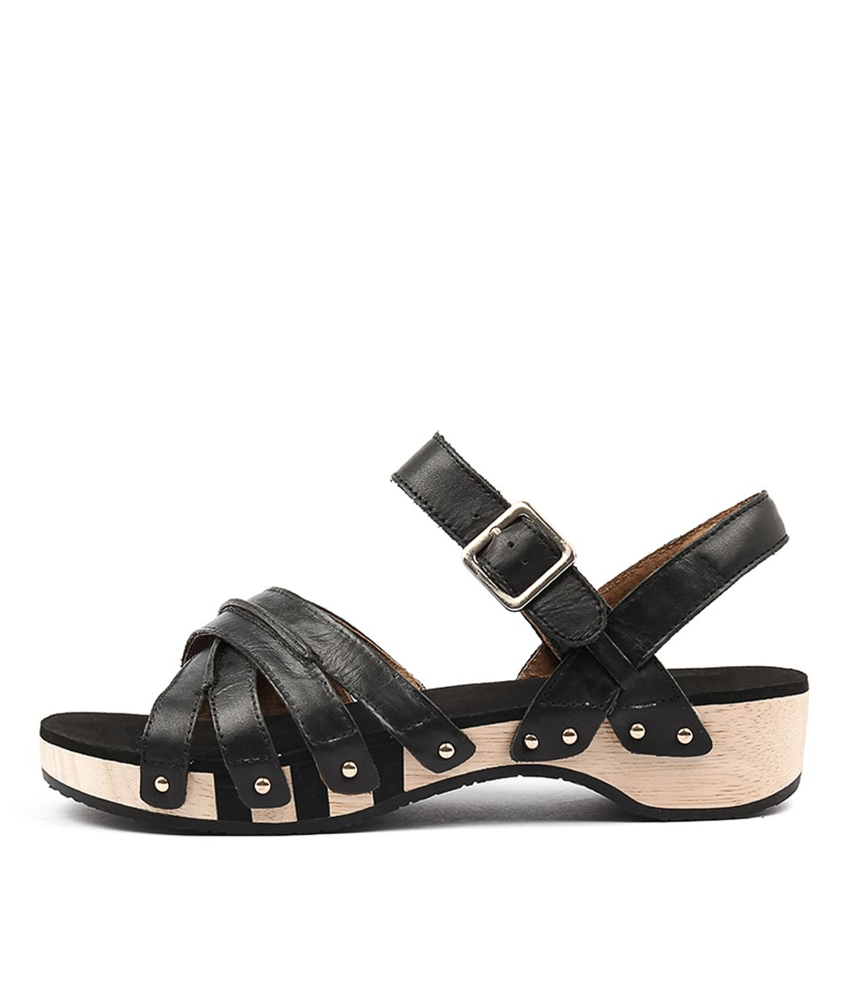 Scholl Passion Black Sandals