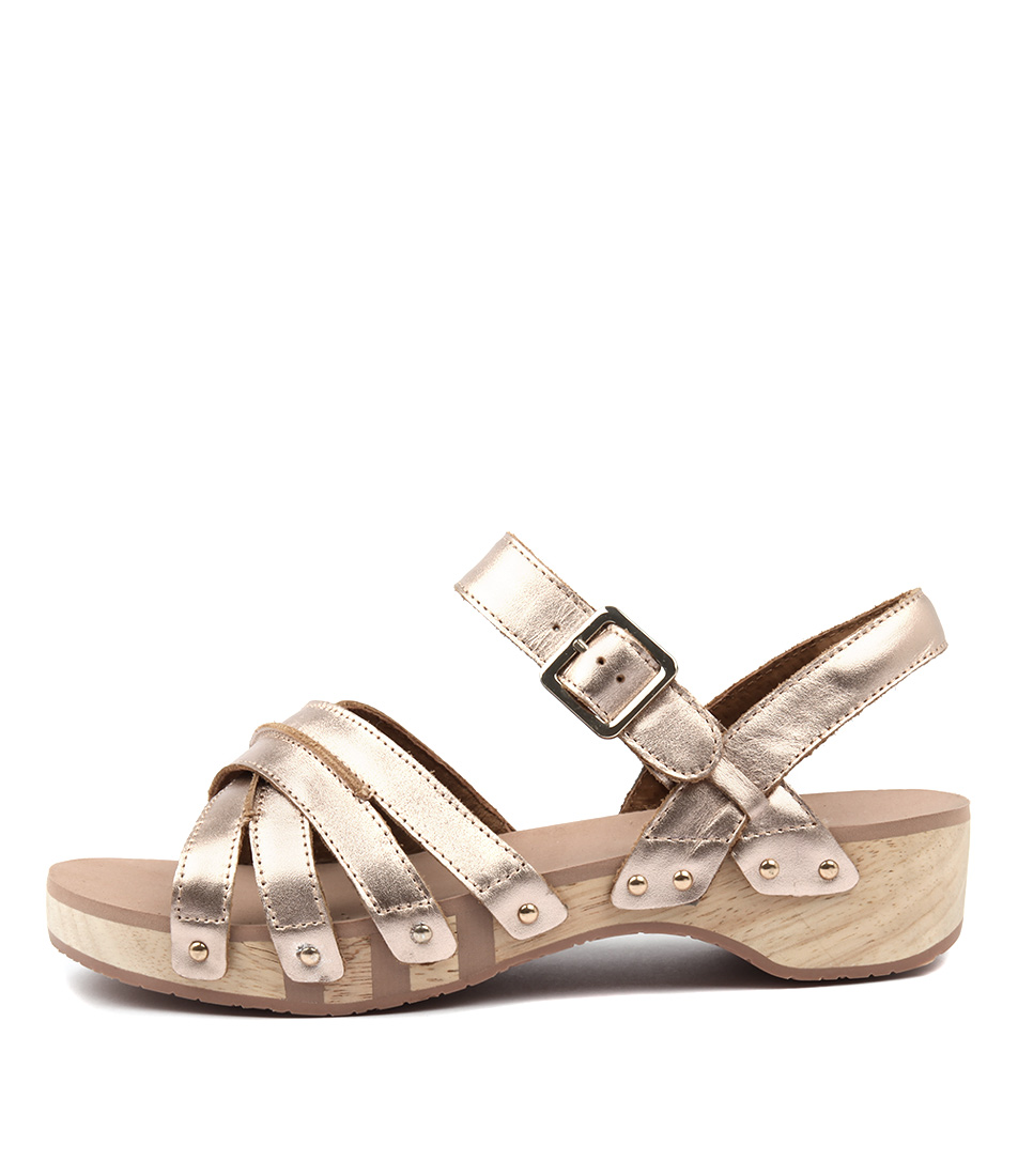 Scholl Passion Rose Gold Sandals