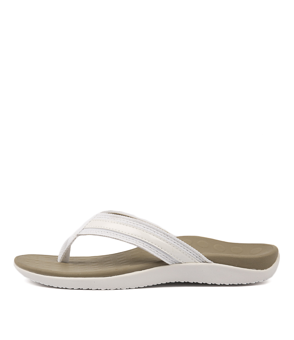 Scholl Tide Us White Sandals