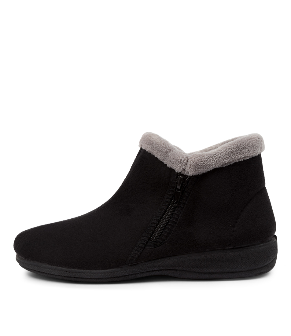 Buy Scholl Dahlia Hs Black Ankle Boots online with free shipping