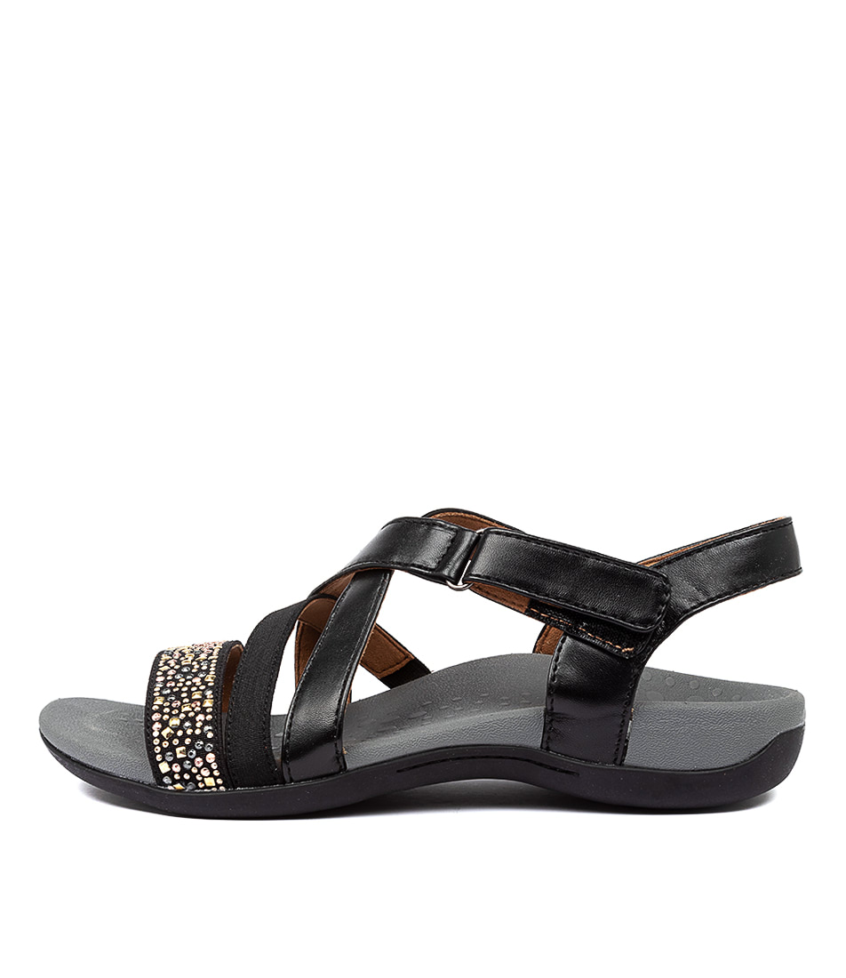 Buy Scholl Altair Hs Black Flat Sandals online with free shipping