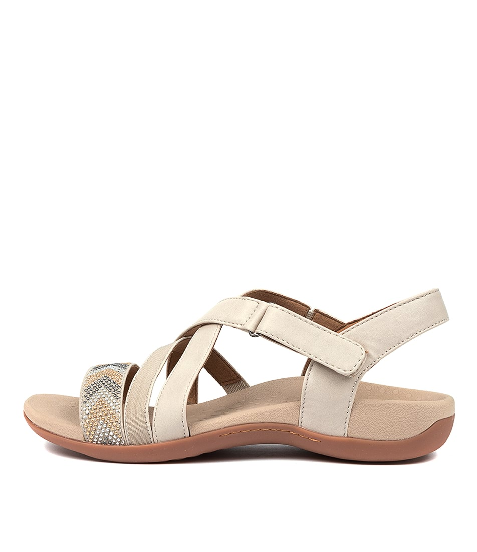 Buy Scholl Altair Hs Bone Flat Sandals online with free shipping