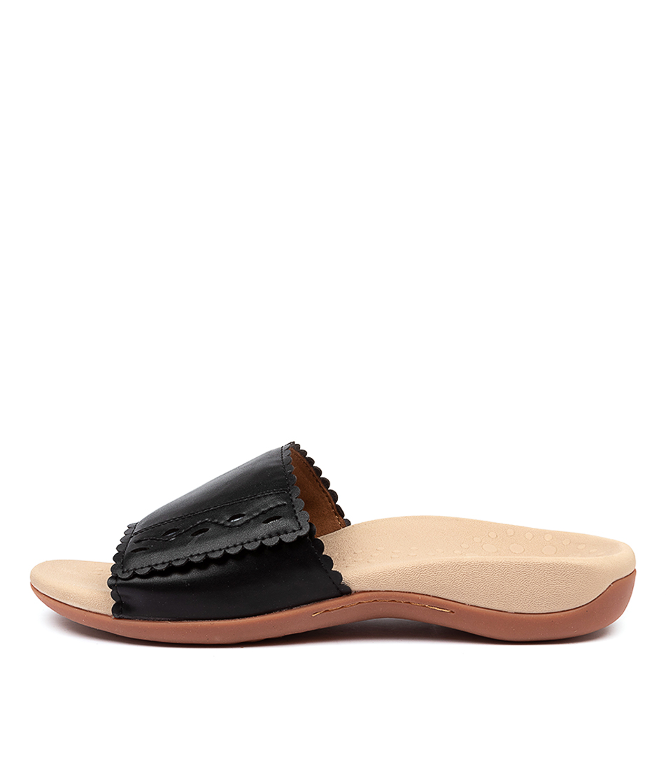 Buy Scholl Astrid Hs Black Sandals online with free shipping