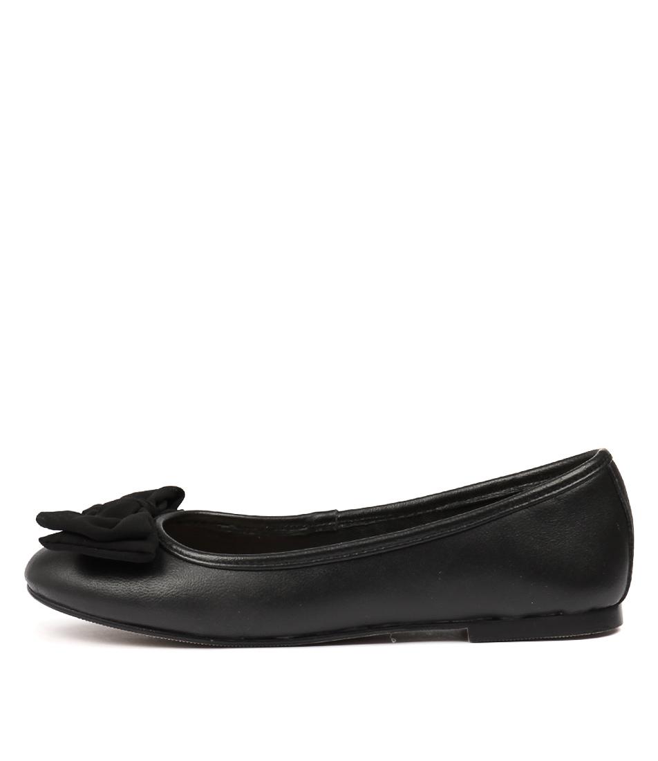 Human Premium Allure Black Flats