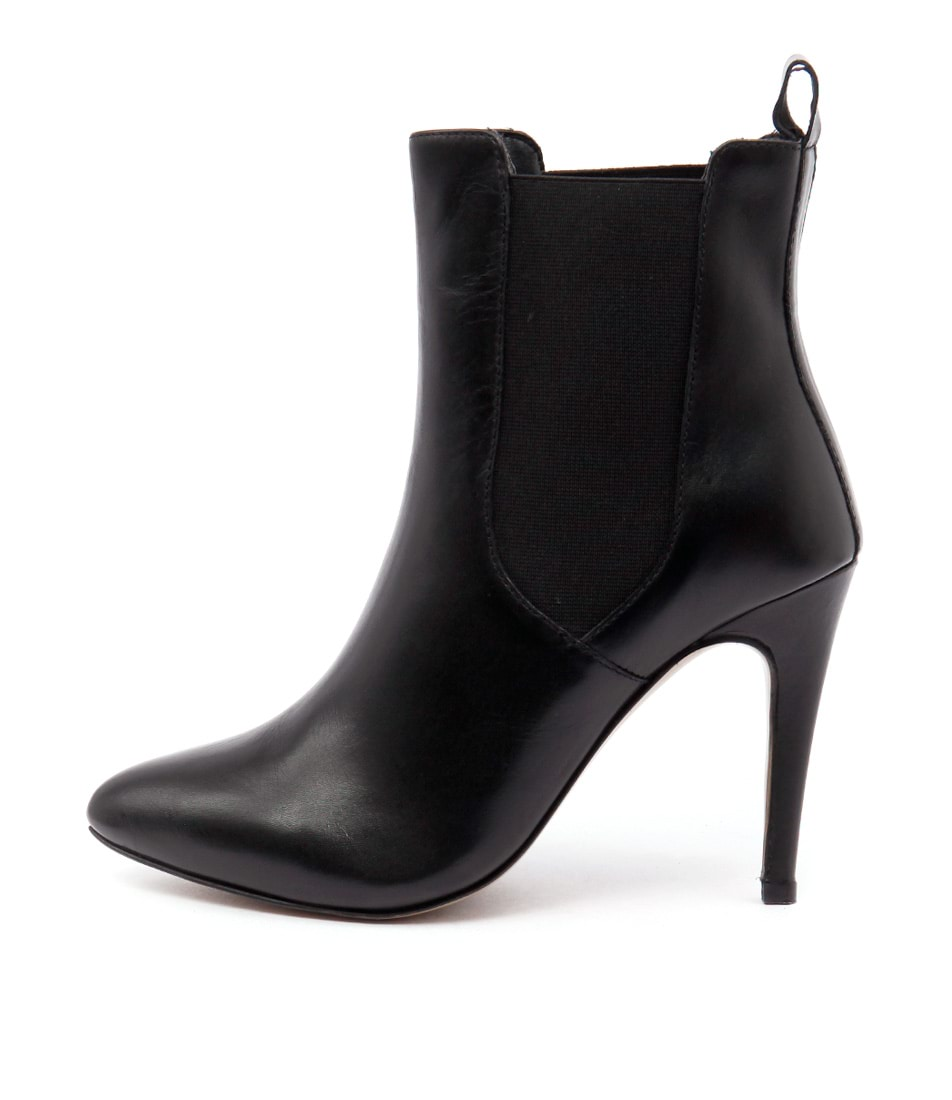Human Premium Bettina Hu Black Boots Ankle Boots
