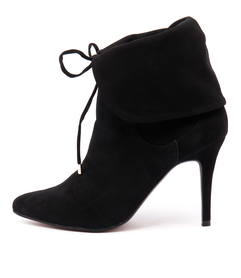 Human Premium Matilda Hu Black Dress Ankle Boots