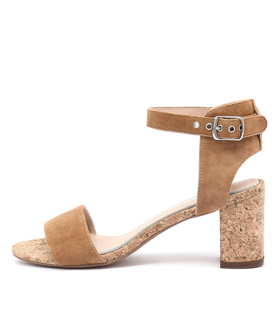 Human Premium Keira Tan Heeled Sandals