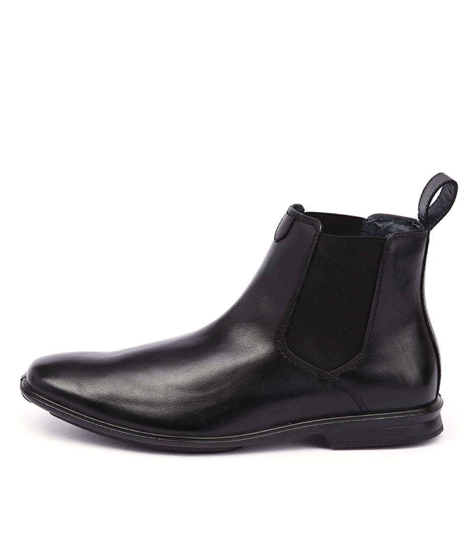 Image is loading New-Hush-Puppies-Chelsea-Extra-Wide-Black-Mens-