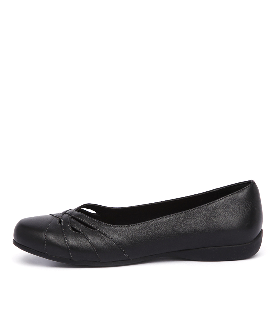 Hush Puppies Jordana Black Shoes