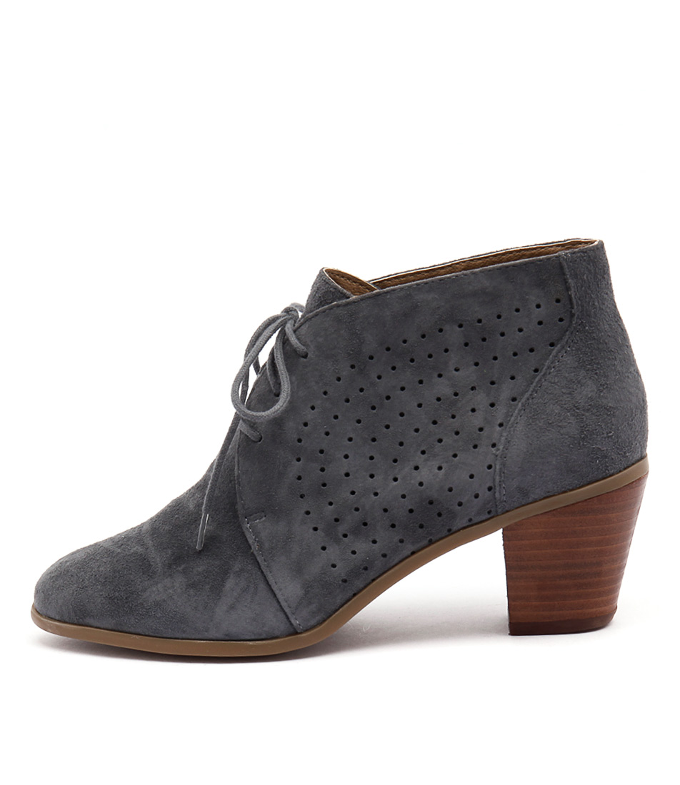 Hush Puppies Carine Hp Dusty Blue Boots
