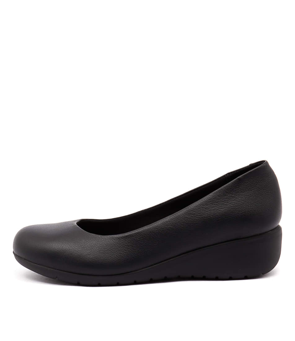 Hush Puppies Dylan Black Shoes