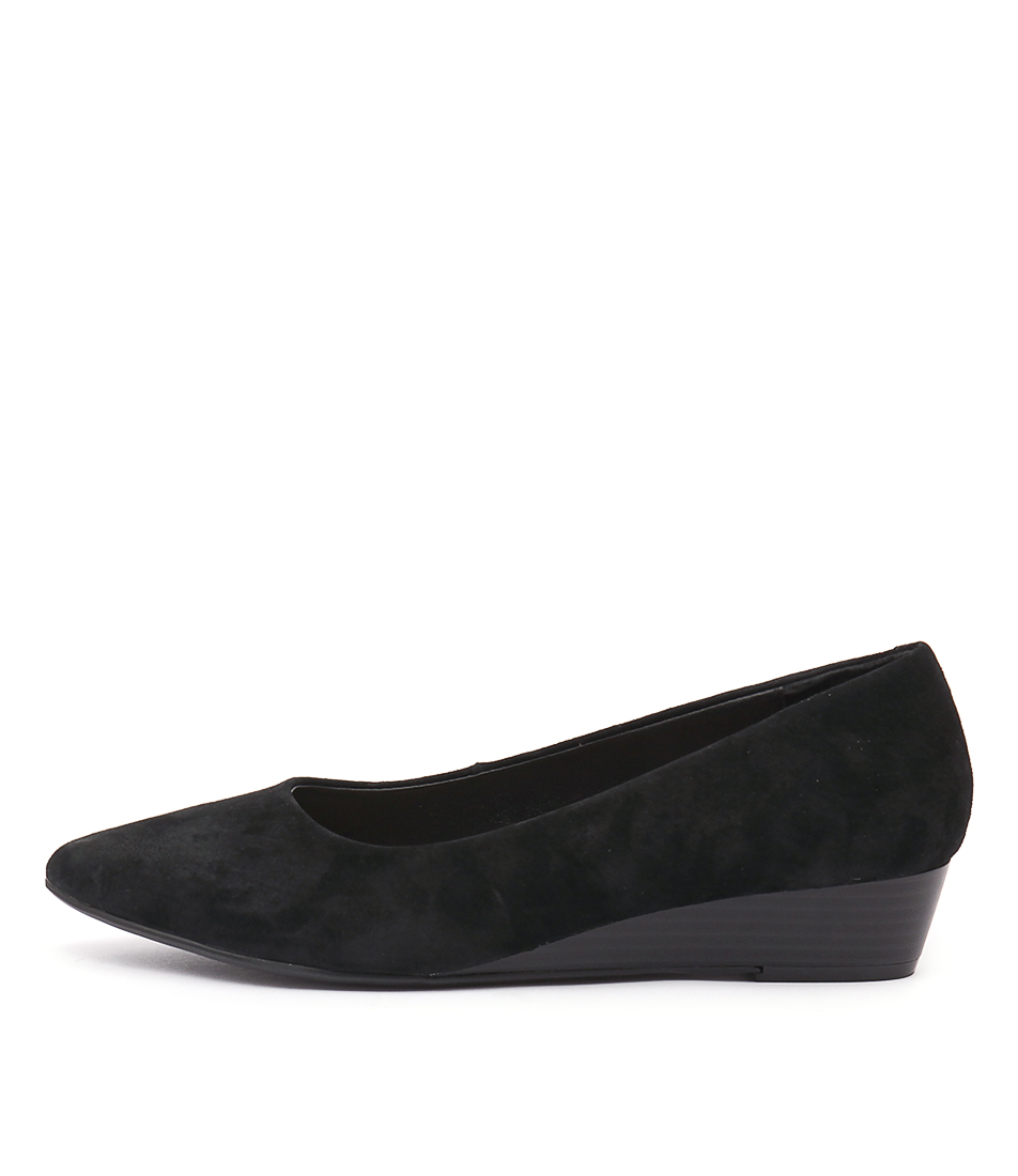 Hush Puppies Lucy Black Shoes