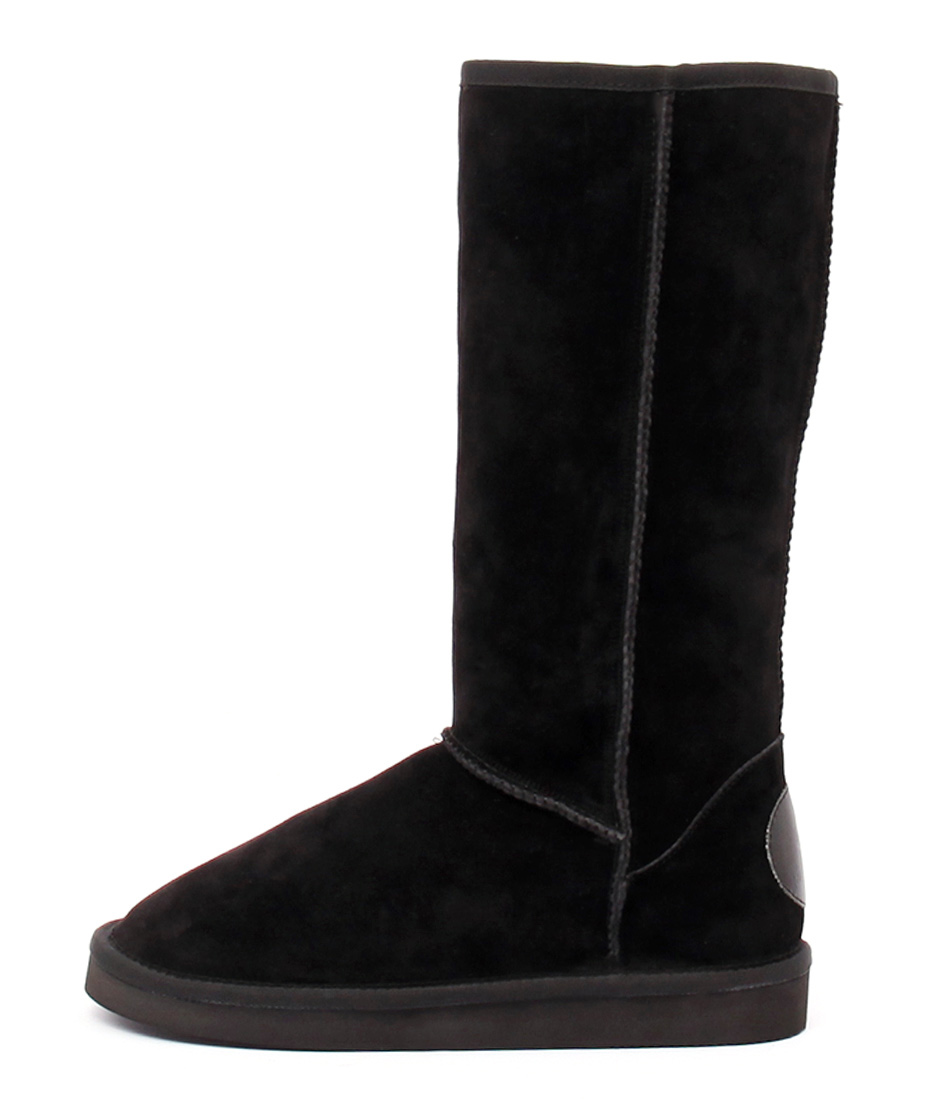 Hush Puppies Dusty Hp Black Calf Boots