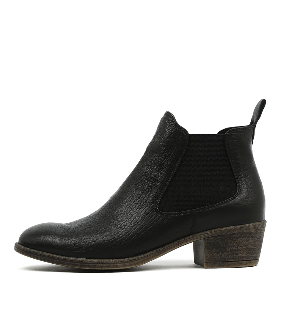 I Love Billy Amona Black Boots