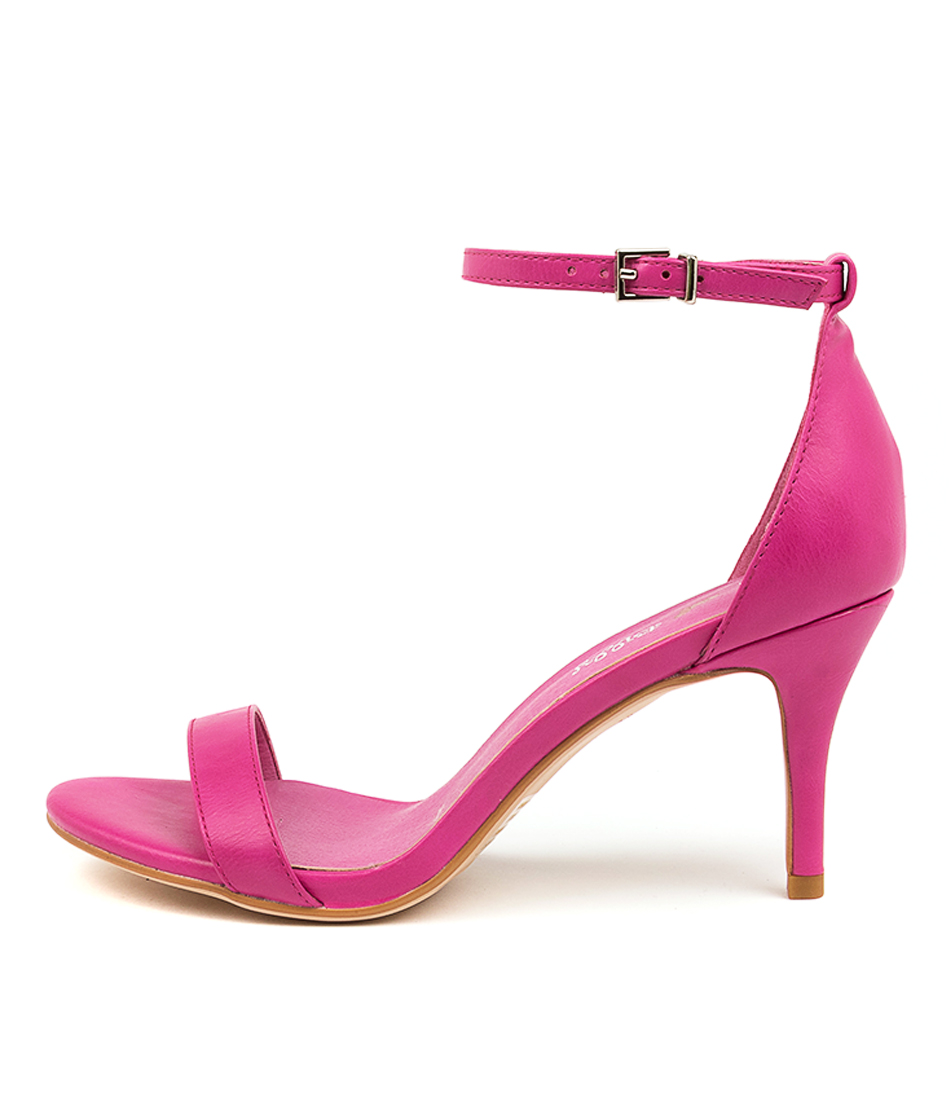 Buy I Love Billy Connie Fuchsia Heeled Sandals online with free shipping