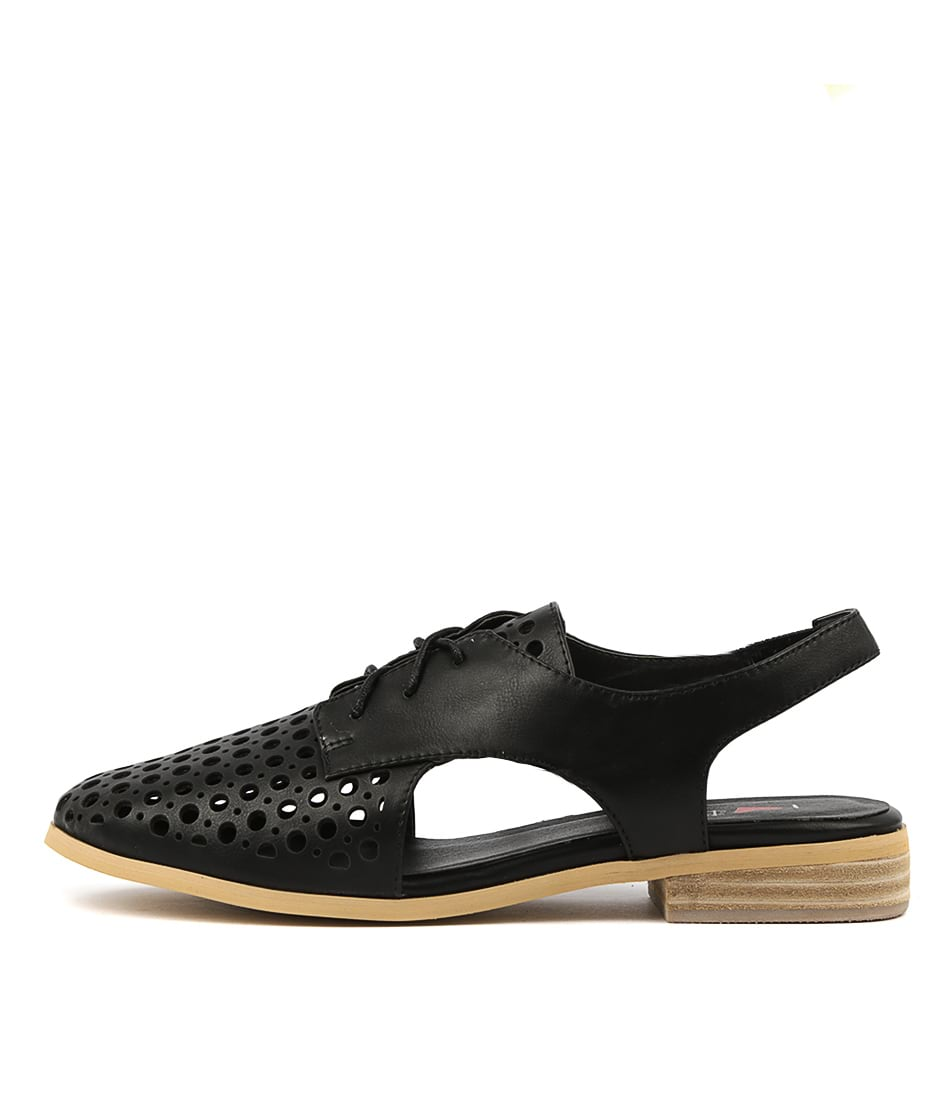 Buy I Love Billy Quibblet Black Flats online with free shipping