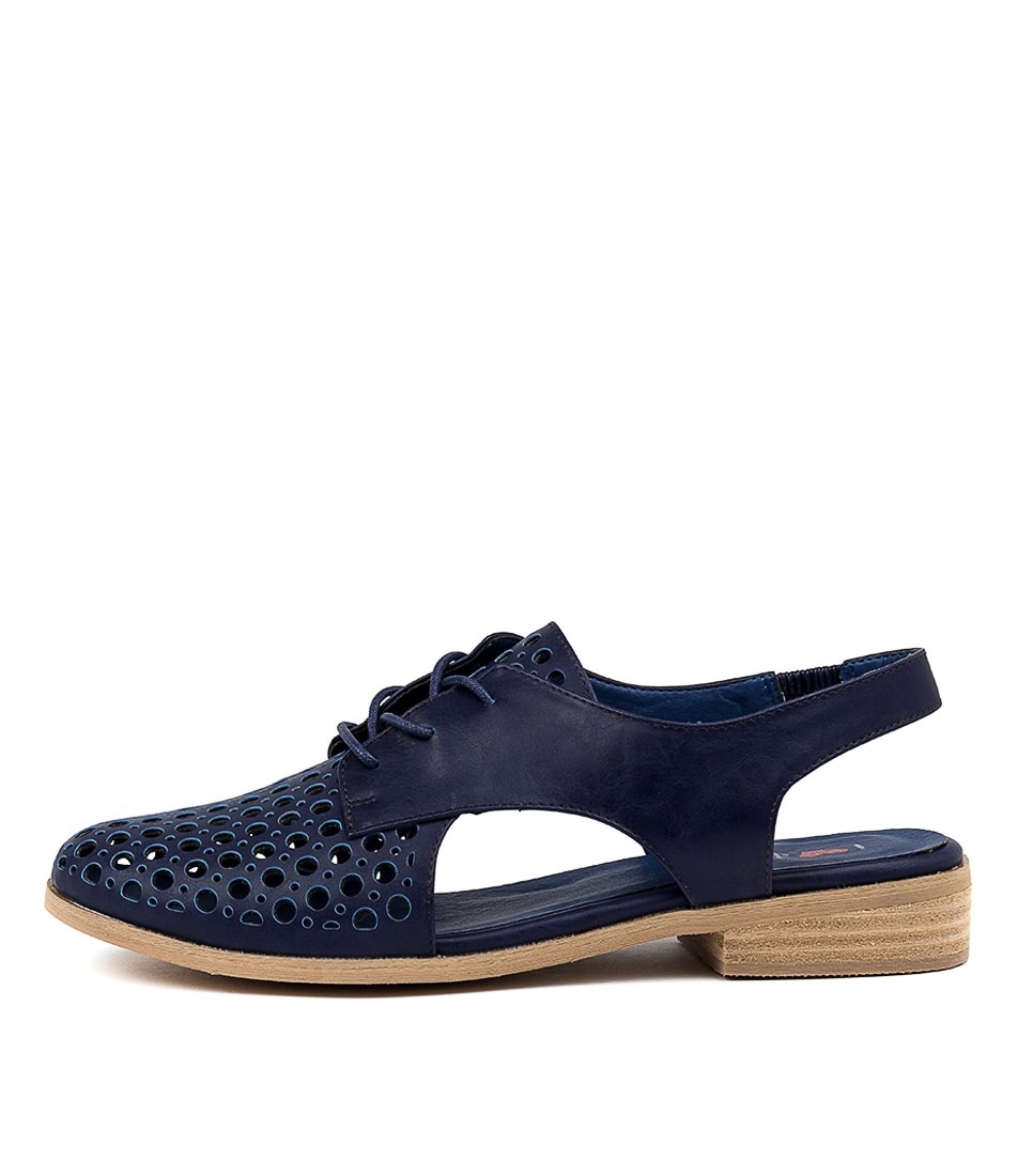 Buy I Love Billy Quibblet Navy Flats online with free shipping