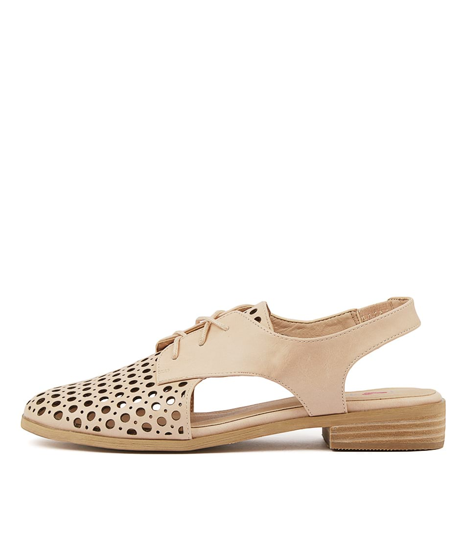 Buy I Love Billy Quibblet Nude Flats online with free shipping