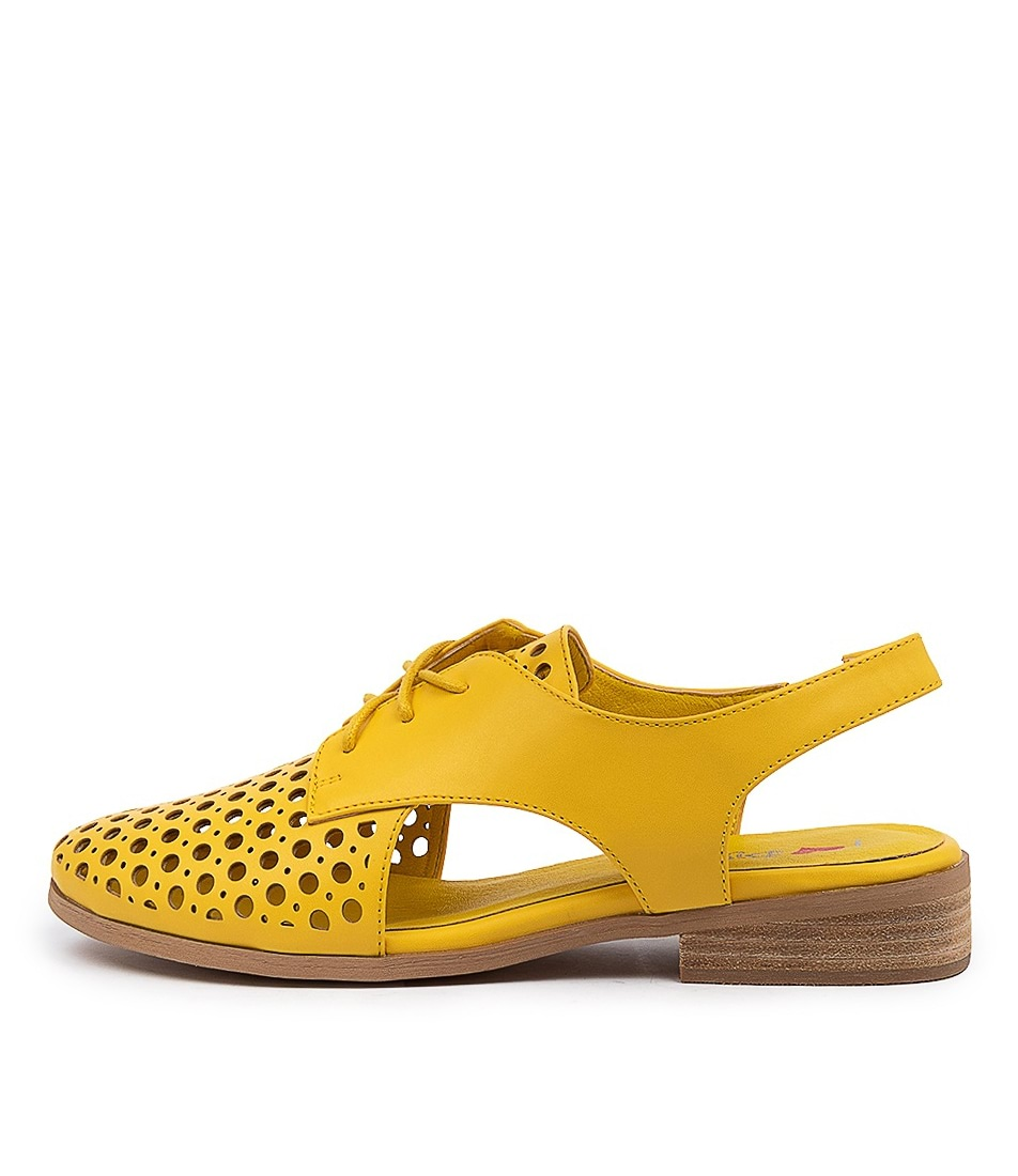 Buy I Love Billy Quibblet Yellow Flats online with free shipping