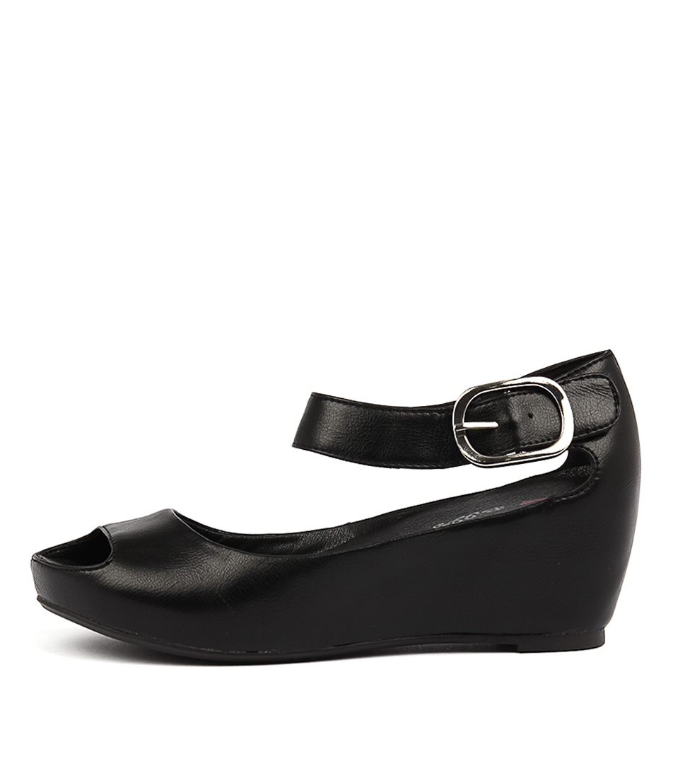 Buy I Love Billy Tindol Black Heeled Sandals online with free shipping