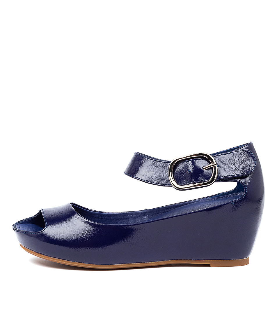 Buy I Love Billy Tindol Blue Heeled Sandals online with free shipping