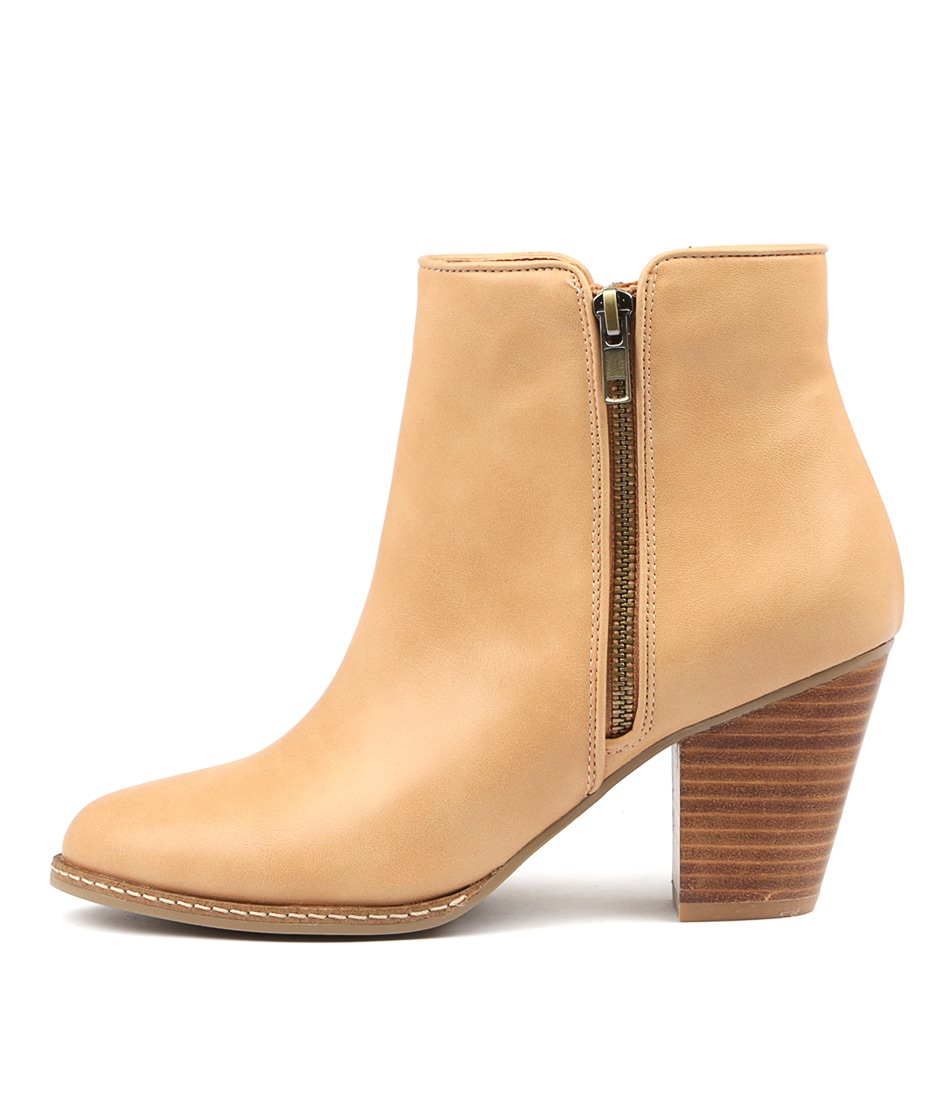 I Love Billy Capitol Camel Ankle Boots