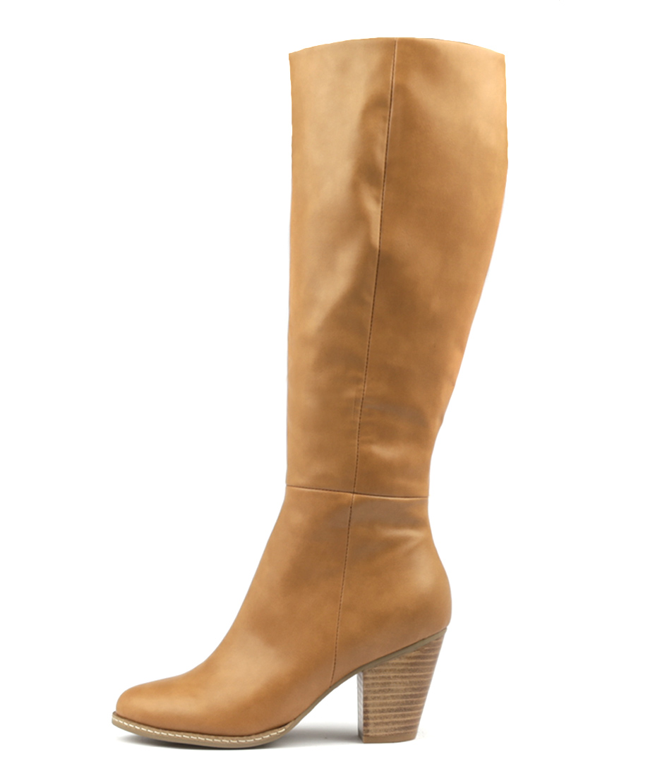Photo of I Love Billy Cartel Tan Long Boots womens shoes