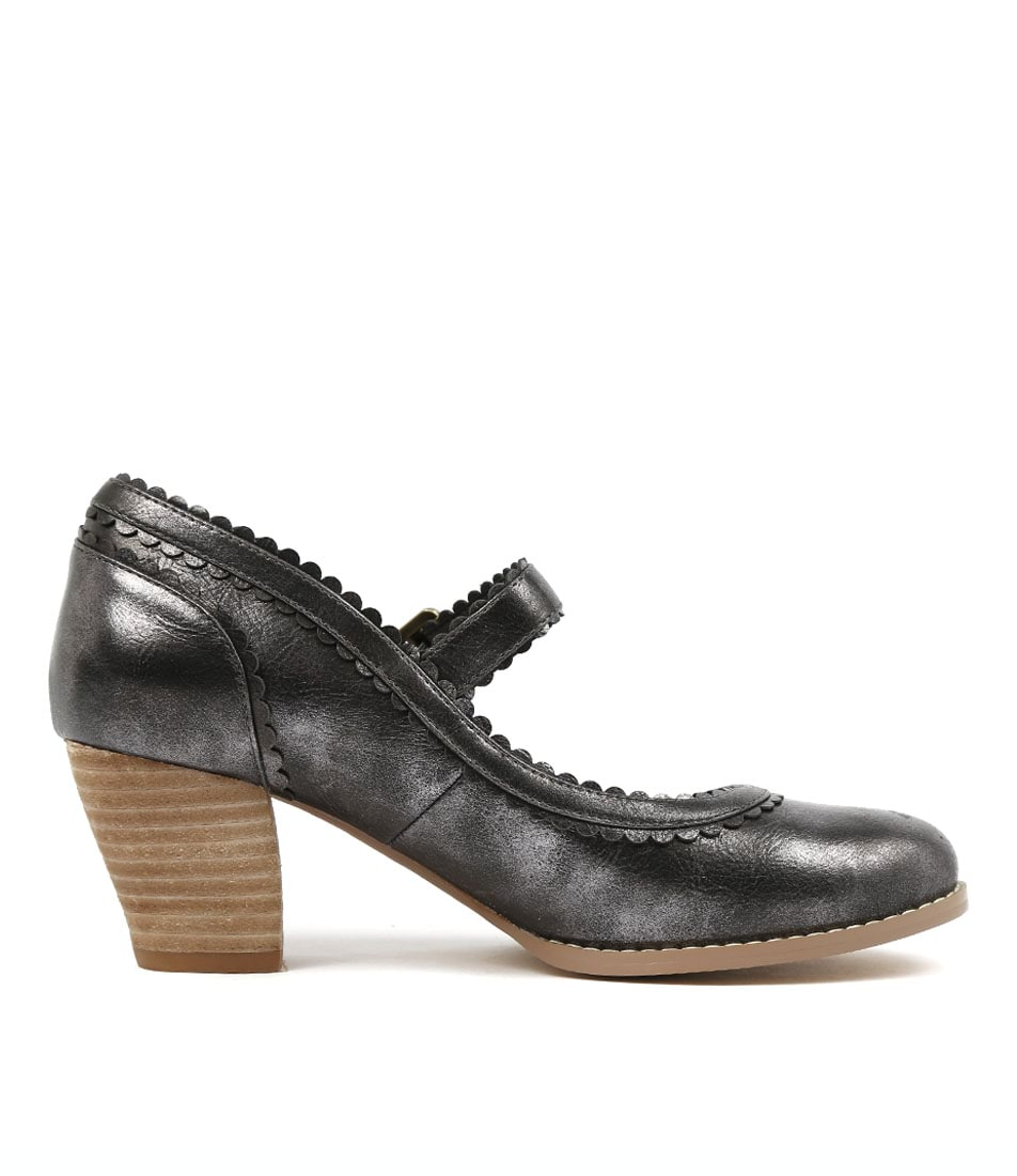 NEW I LOVE Billy Denise Pewter Womens Shoes Dress Shoes