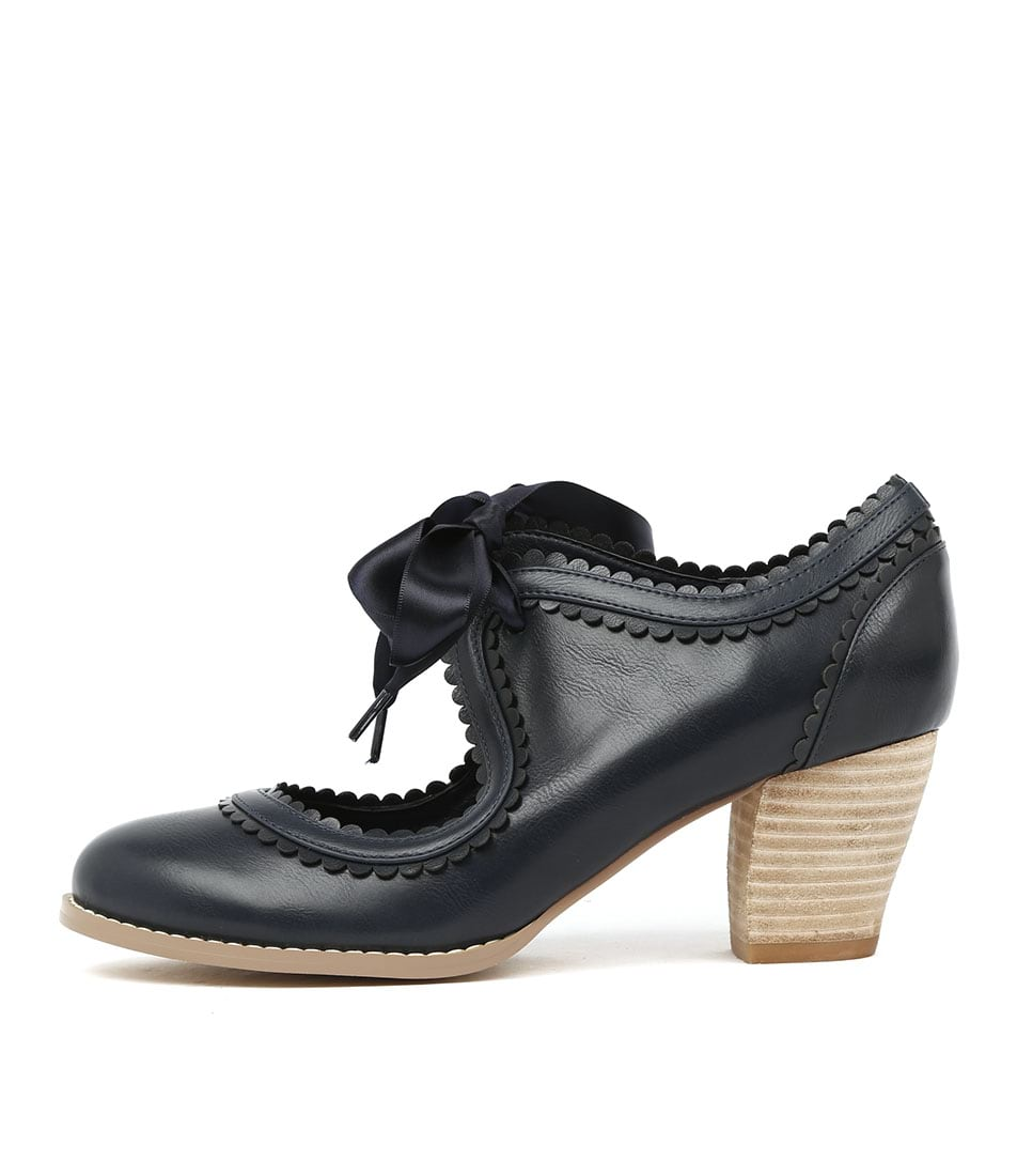 I Love Billy Diz Navy Heels