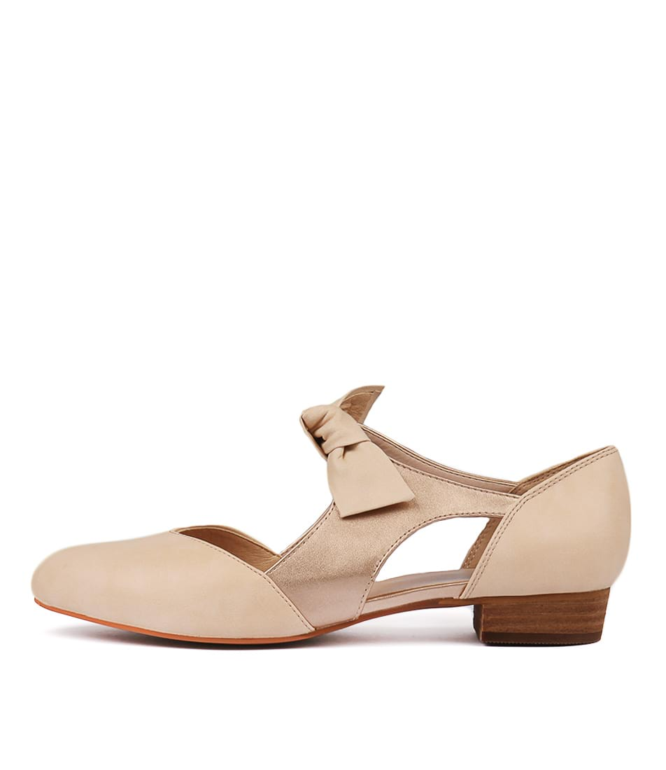 Buy I Love Billy Estella Nude Rose Gold Flats online with free shipping