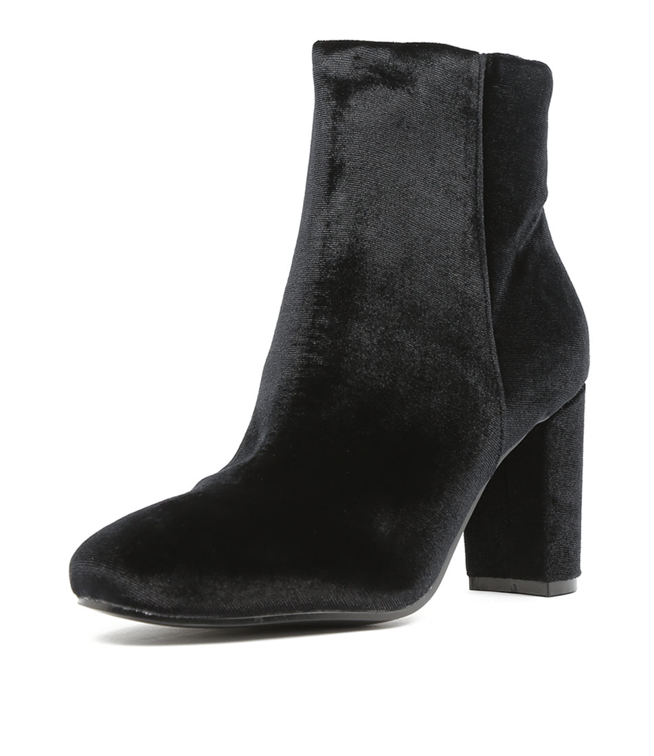 I Love Billy Miriam Black Ankle Boots
