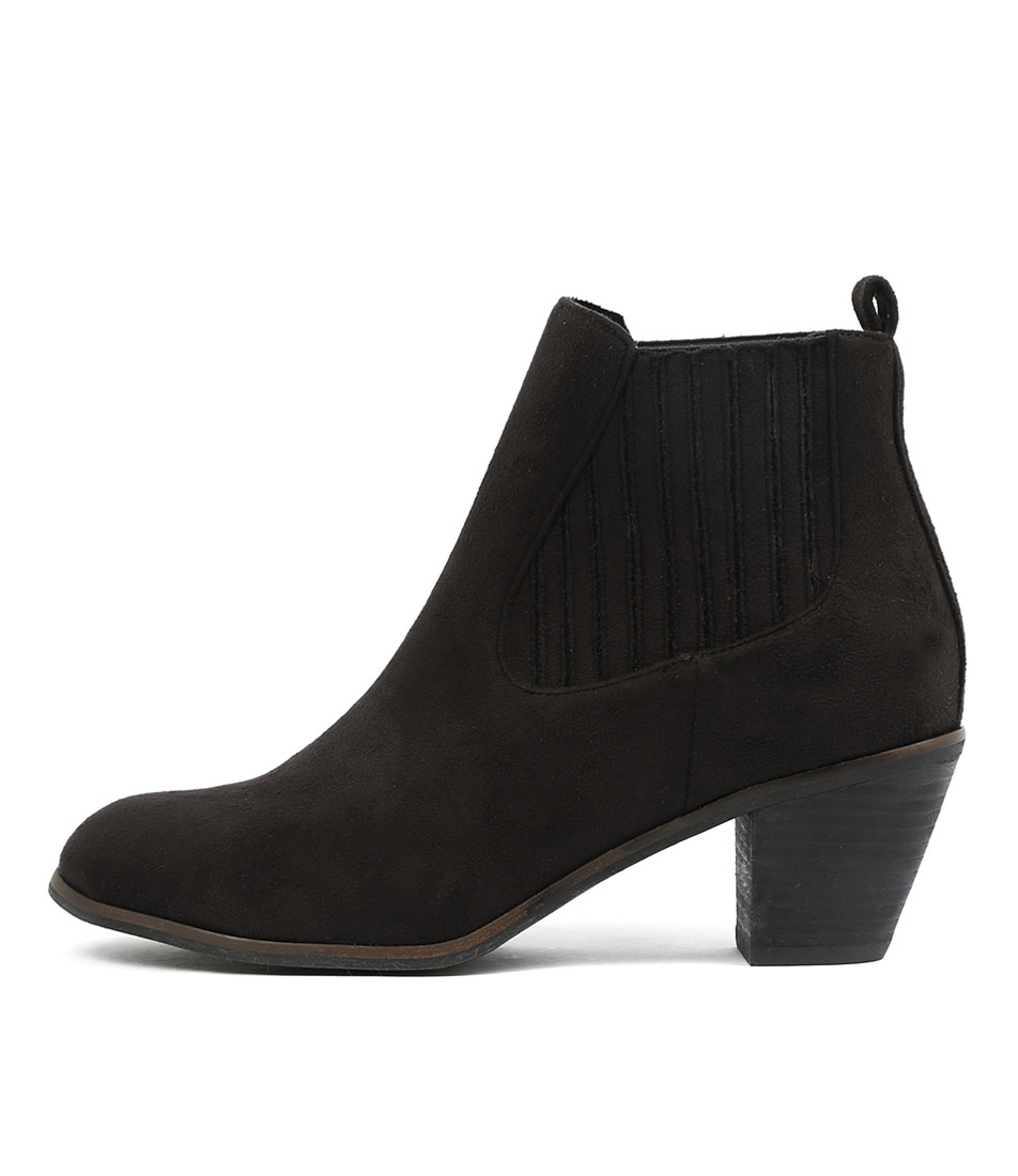 I Love Billy Nexis Black Ankle Boots