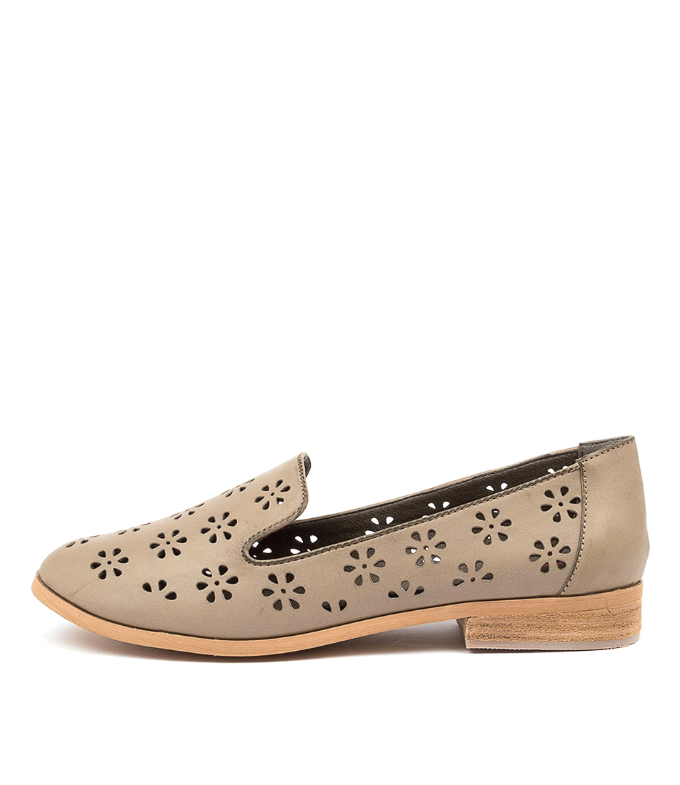Buy I Love Billy Quinn Khaki Flats online with free shipping