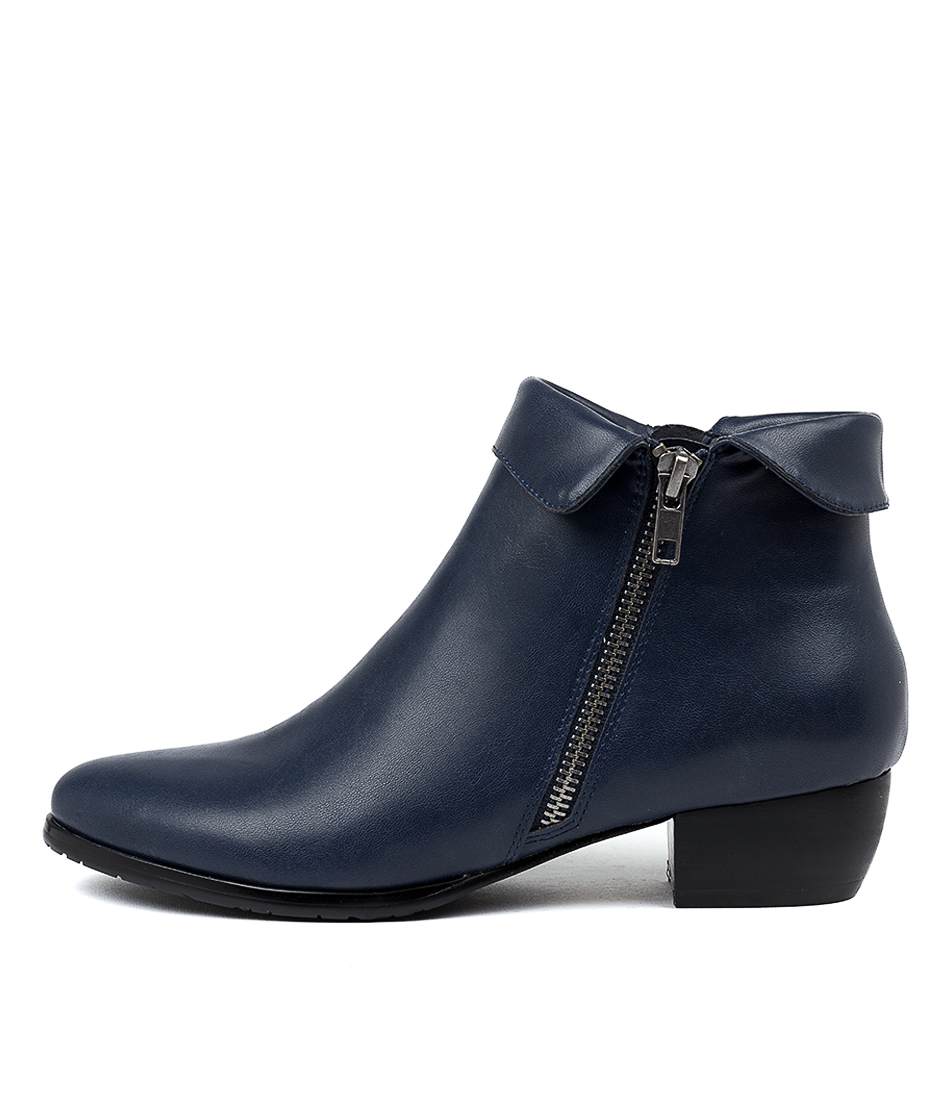 Buy I Love Billy Tashele Navy Ankle Boots online with free shipping
