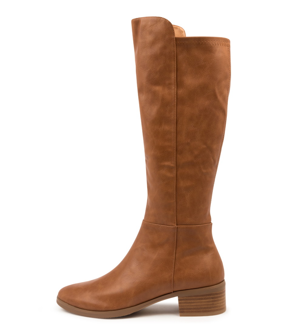 Buy I Love Billy Telli Tan Tan Long Boots online with free shipping