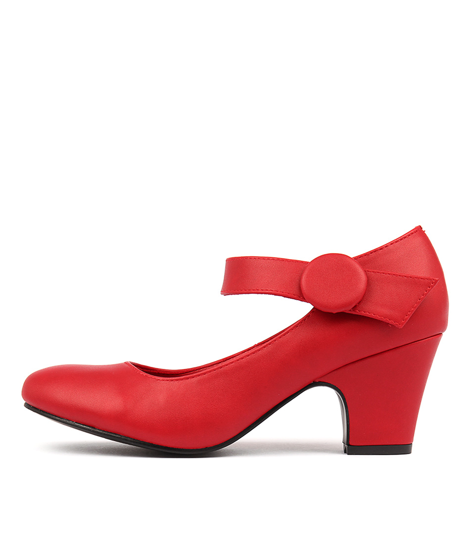 I Love Billy Sharik Red Heeled Shoes