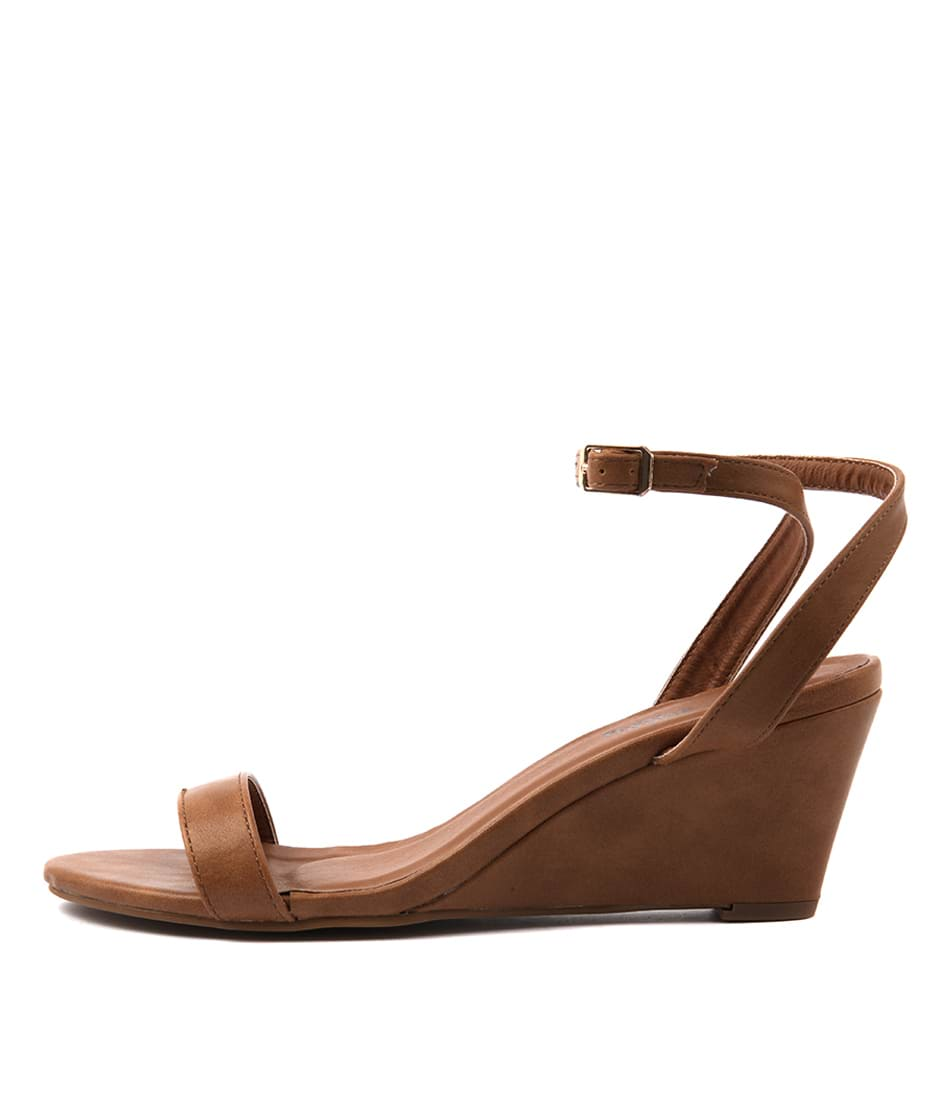 I Love Billy Blaxen Tan Sandals