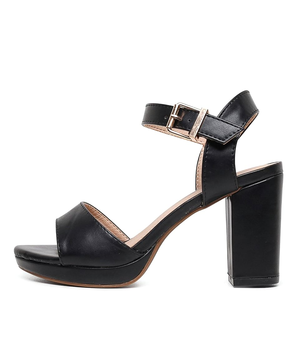 Buy I Love Billy Bountys Black Heeled Sandals online with free shipping
