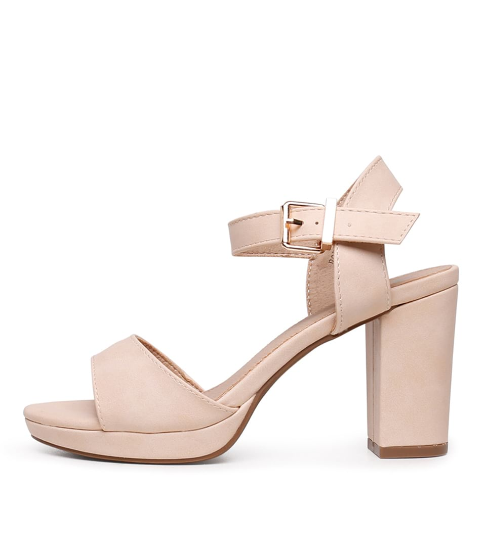 Buy I Love Billy Bountys Nude Heeled Sandals online with free shipping