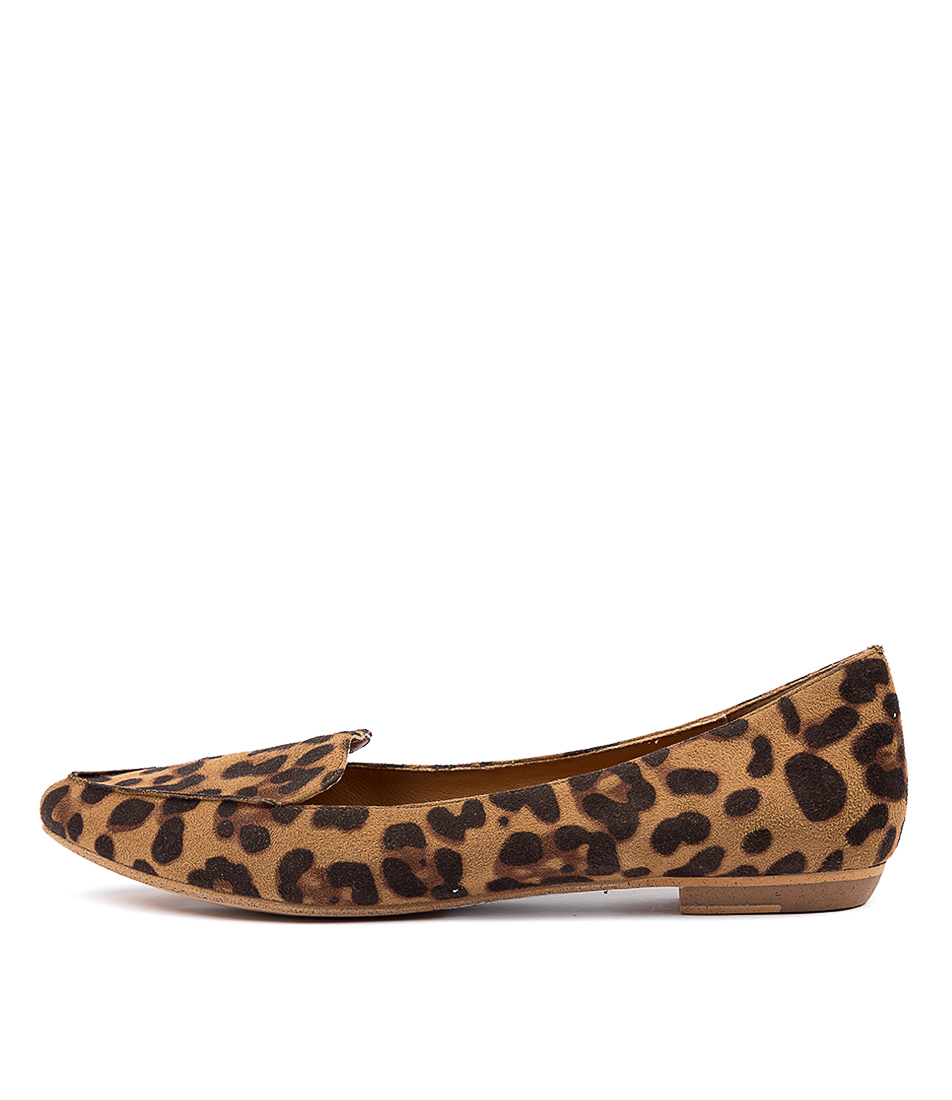 Buy I Love Billy Breane Ocelot Flats online with free shipping