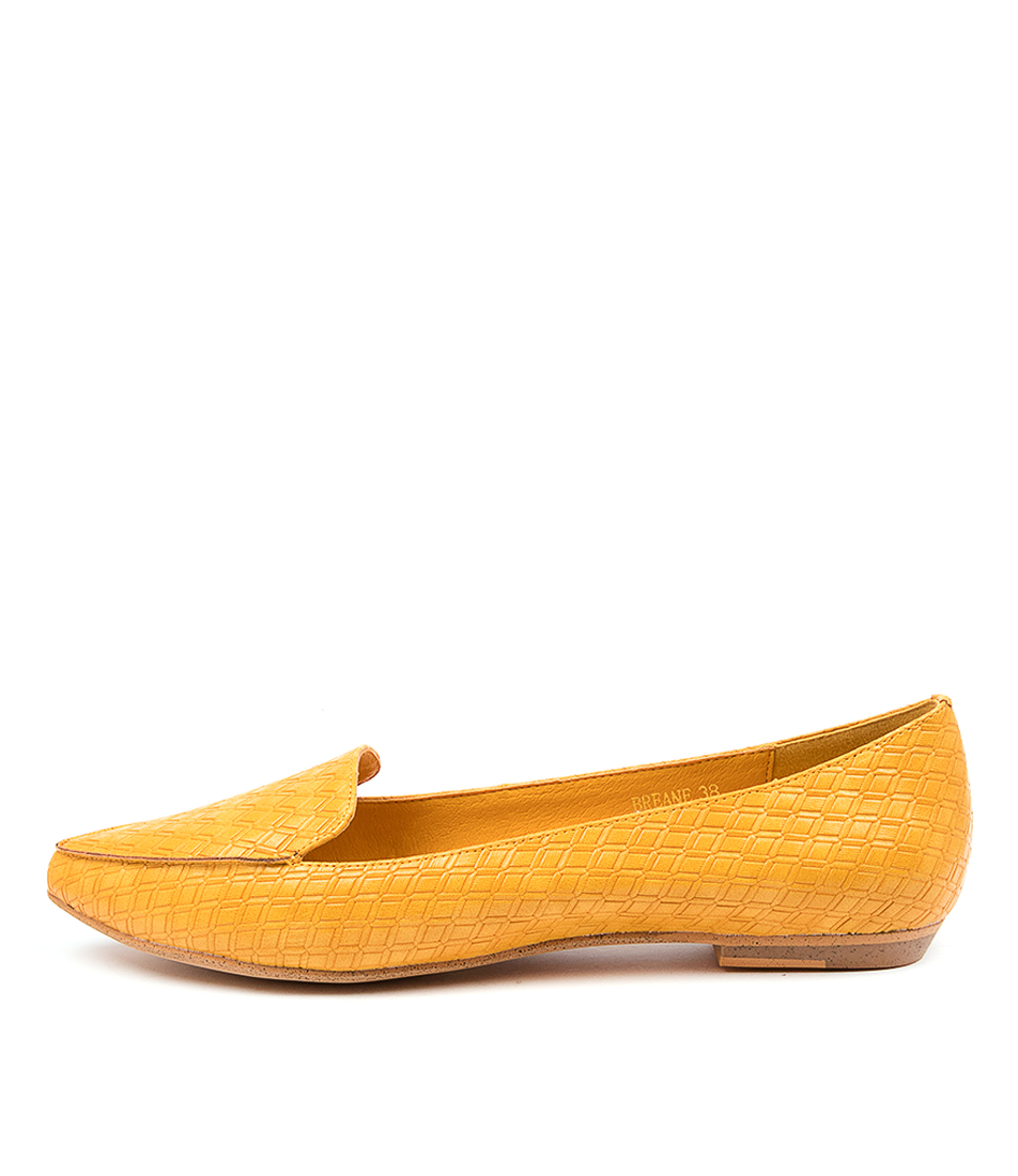 Buy I Love Billy Breane Yellow Flats online with free shipping