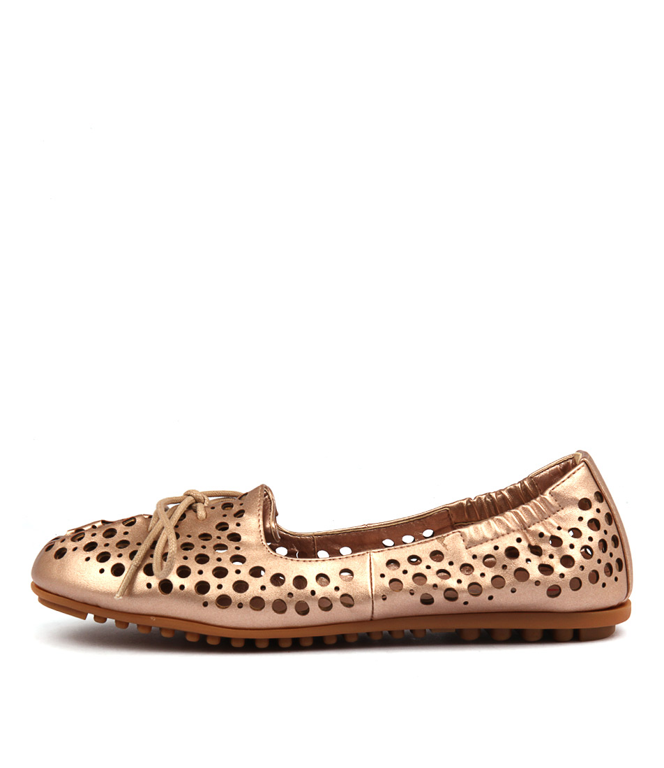 I Love Billy Buffi Rose Gold Flat Shoes