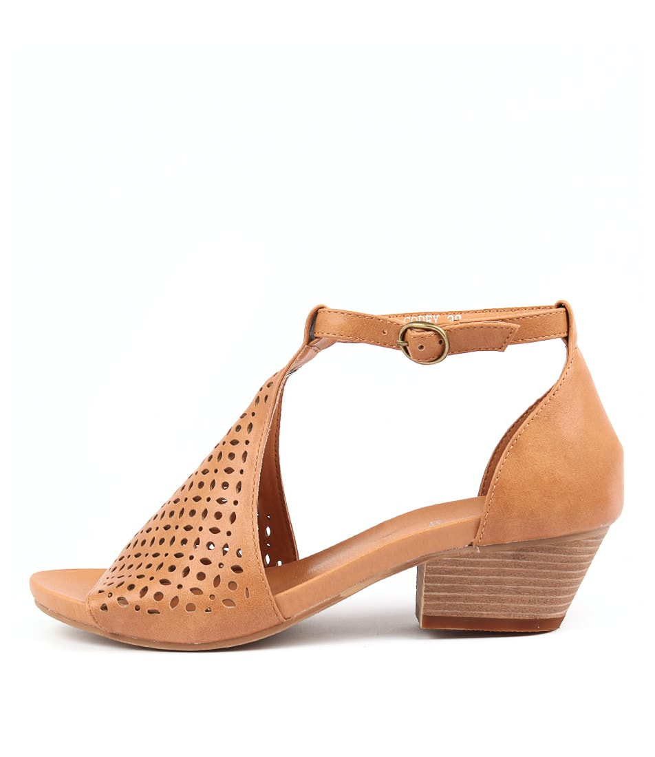 I Love Billy Codex Tan Sandals
