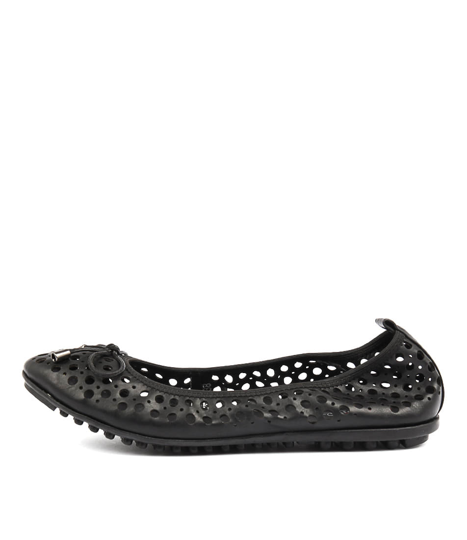 I Love Billy Cosette Black Flat Shoes